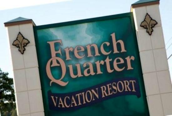 French Quarter Resort: Main Sign