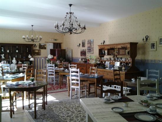 Hotel Le Royal : vue salle a manger