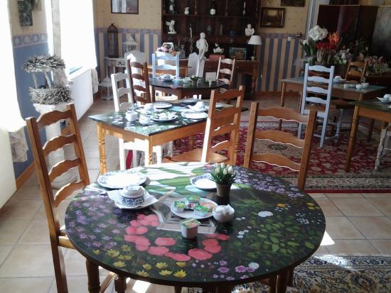 Hotel Le Royal : autre salle ptit dej et salle à manger