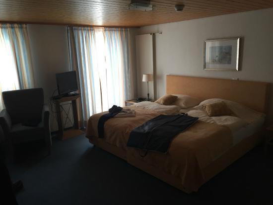 Steinach, Schweiz: Das Zimmer