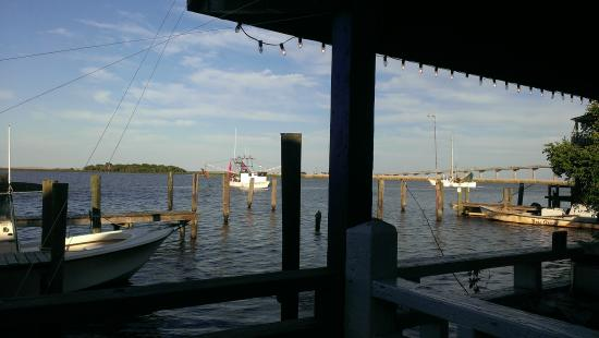 Water Street Hotel & Marina : view from the patio