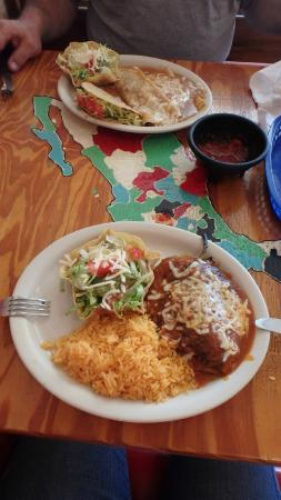 El Ranchito Mexican Restaurant Chili Relenos At Spring Hill Fl