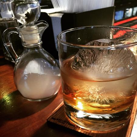 The Exchequer: Smoked Old Fashioned