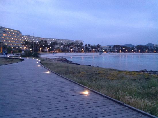 Europa: Sa Coma beach (at night!)