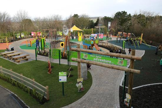 Belfast Zoos new play facility the Adventurers Learning Centre