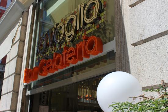 La Voglia Ice Cream: Вывеска