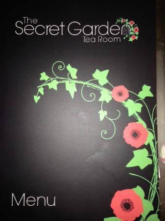 The Secret Garden Tea Room Menu Worsley