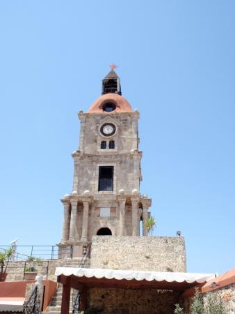 Clock Tower - Foto van Roloi Clock Tower, Rhodos - TripAdvisor