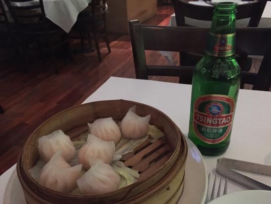Grand Sichuan: Excellent Shrimp Dumplings