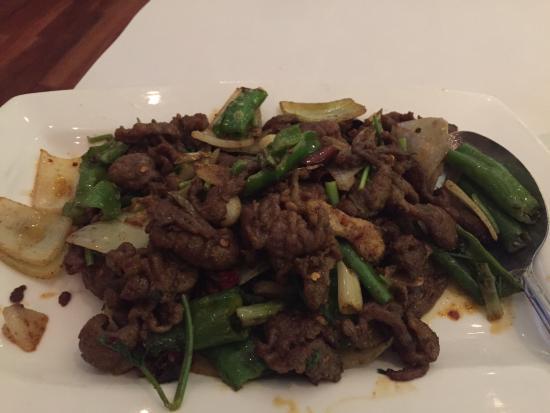 Grand Sichuan: Spicy Cumin Lamb