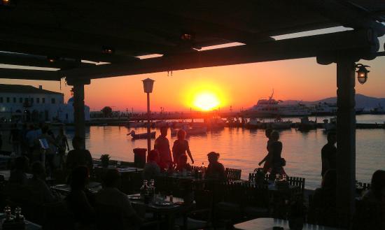 Alegro Restaurant : Alegro sunset...!
