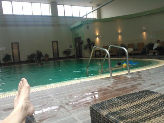 Pirin Park Hotel: Μεγάλη άνετη ,θερμαινόμενη πισίνα,με γιακούζι,παιδική,εξωτερική κλπ