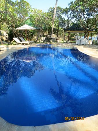 Poinciana Oceanside Resort & Retreat Centre: one of two beautiful pools
