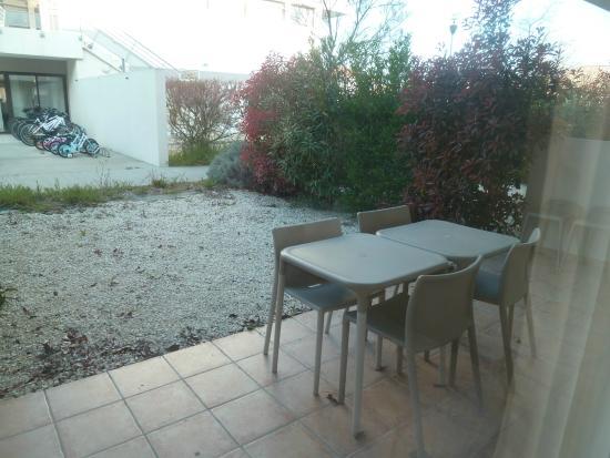 Résidence Cap Med : Terrasse