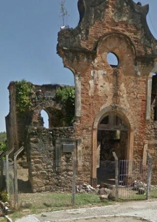 Ruinas da Igreja Nossa Senhora do Rosario dos Homens Pretos