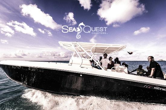 Simpson Bay, St-Martin/St Maarten : SeaQuest Charters Full Day