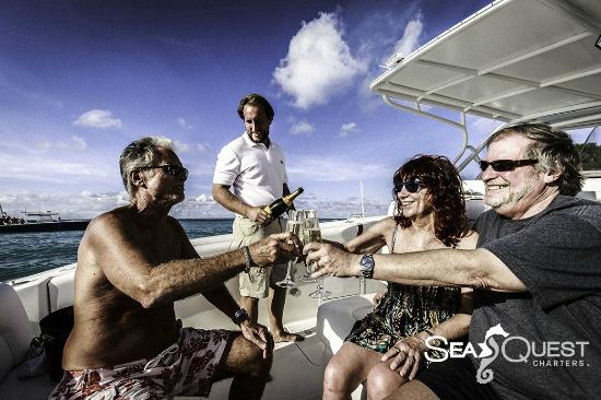 Simpson Bay, St-Martin/St Maarten : SeaQuest Charters Half Day