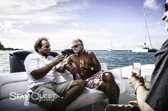 Simpson Bay, St-Martin/St Maarten : SeaQuest Charters St.Barth