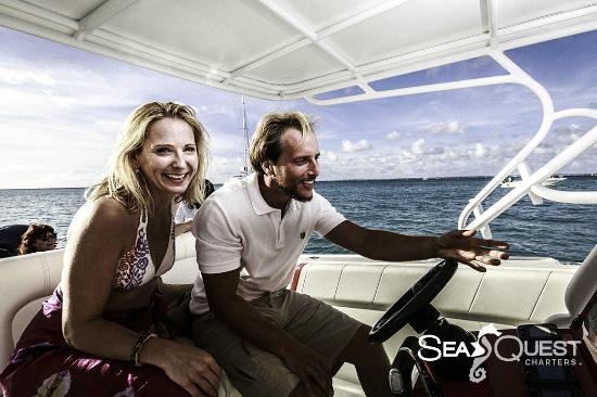 Simpson Bay, St. Martin/St. Maarten : SeaQuest Charters Full Day