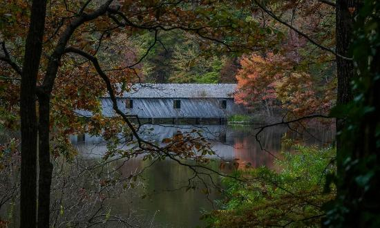 Madison County Nature Trail-Green Mountain: Cambron Covered Bridge