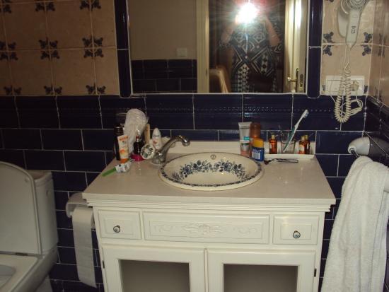 Casa de las Mercedes: Bathroom charm