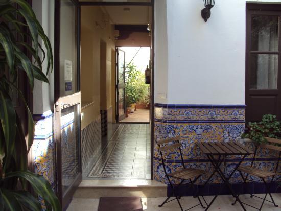 Casa de las Mercedes: Hotel foyer