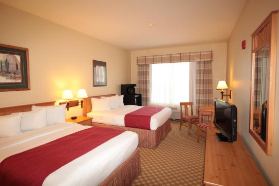 Country Inn & Suites By Carlson, Tucson Airport: Two Queen Beds