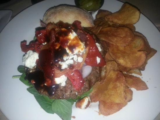 The Brass Cafe and Saloon: A Make Your Own Burger Night Creation