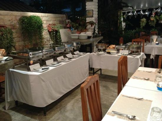 Cafe Java: buffet