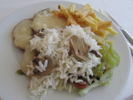 THe Mirador Papagayo Hotel: Dinner.