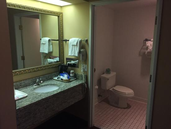 BEST WESTERN Resort Hotel & Conference Center: Bathroom area