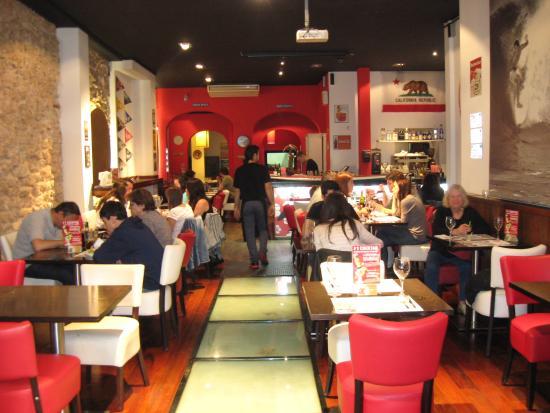 Restaurant interior picture of soca bar