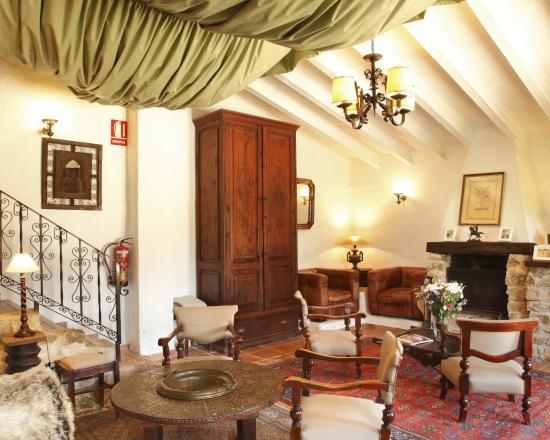 Hotel Casa del Maco: Salon