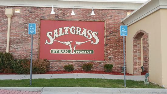 Saltgrass Steak House: exterior sign