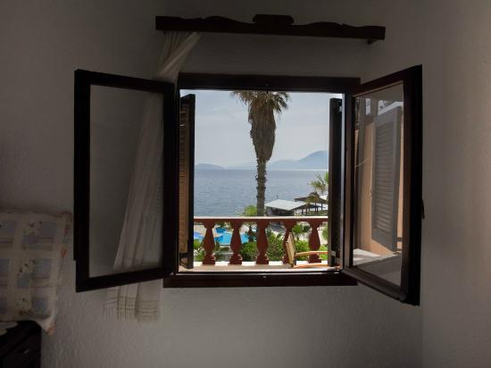 Vangelis Villas: View from our apartment