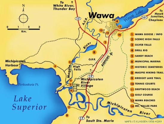 Map Of Wawa Ontario Canada Map of Wawa   Picture of Young's General Store, Wawa   Tripadvisor