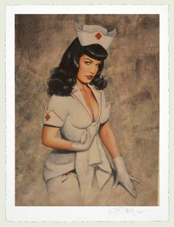 Pin up kjole fra Bettie Page