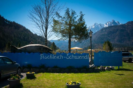 Schwendt, Austria: The Sign Out Front
