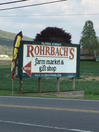 Catawissa, Пенсильвания: Rohrbach's Farm Market & Gift Shop