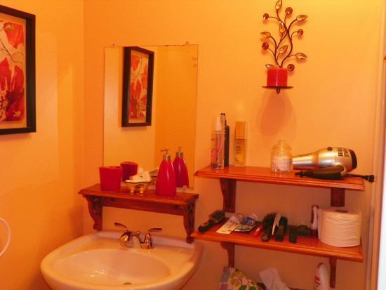Au Saut Du Lit : Coin salle de bain