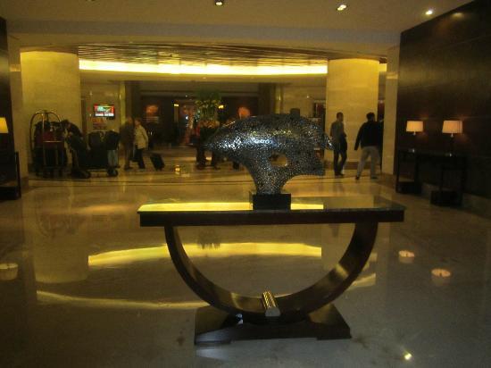 Mingde Grand Hotel Shanghai : Lovely decor in the lobby