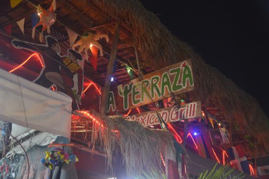 La Terraza : Upstairs restaurant