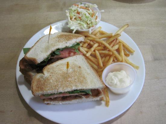 """""""Club Sandwich"""" at The Pantry (13/Apr/15)."""