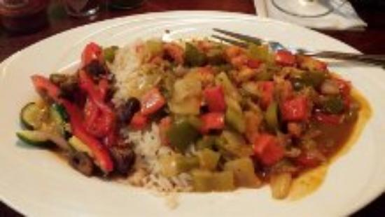 Zydeco Grille: Etouffee at Zydeco