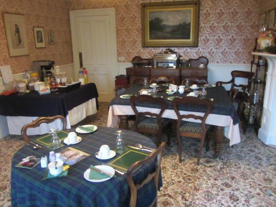 Bendarroch House: Breakfast room.