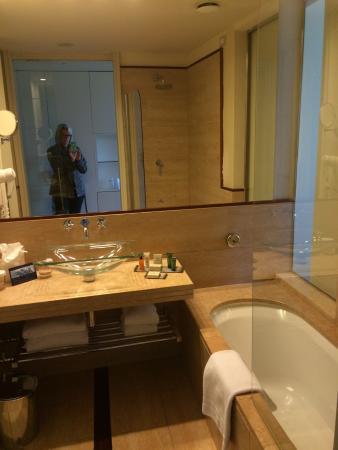 Clean, modern hotel