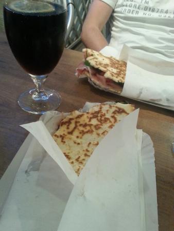Altamarea Piada Cafe: Grande cena!