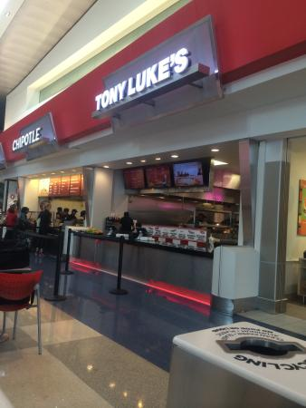 Tony Luke S Philadelphia International Airprt Restaurant Reviews Phone Number Photos Tripadvisor