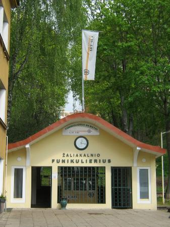 Zaliakalnis Funicular