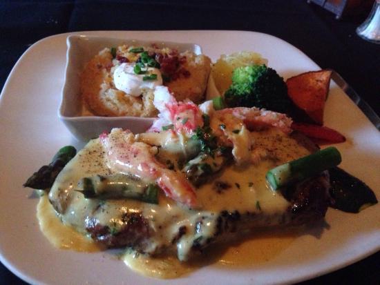 Intermezzo Restaurant : Steak Oscar